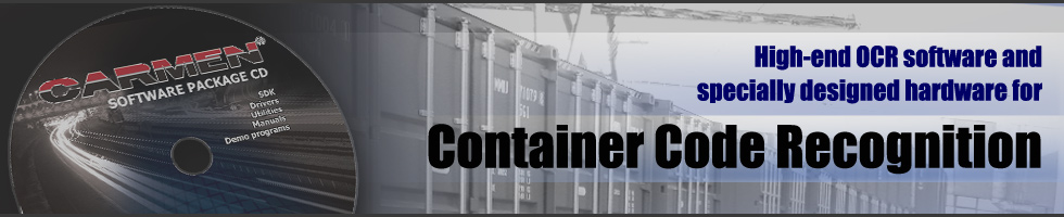 Automatic Container Code Recognition SOFTWARE